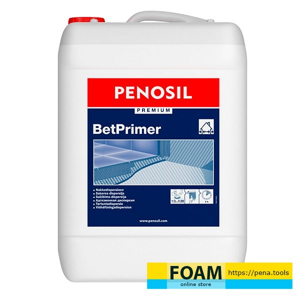 PENOSIL Concentrate to improve adhesion Premium BetPrimer 3 l
